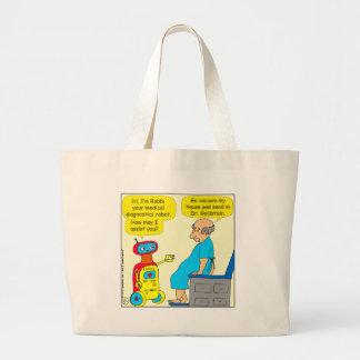 bande dessinée médicale de robot de 731 sac en toile jumbo