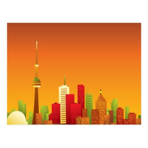 Bande dessinée Toronto Carte Postale