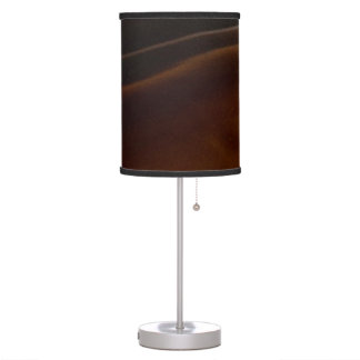 Banded Agate, Brown, Cool Nature Stone Desk Lamps