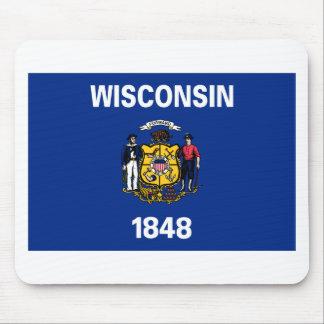 Bandeira de Wisconsin Mouse Pad
