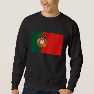 Bandeira Portuguesa Classica por Fás de Portugal Sweatshirt