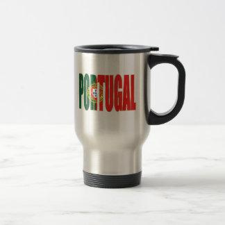 """Bandeira Portuguesa - Marca """"Portugal"""" por Fãs Travel Mug"""