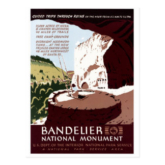 Bandelier National Monument Postcard