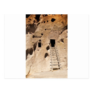 Bandelier New Mexico Petroglyphs Ancient Indian Postcard