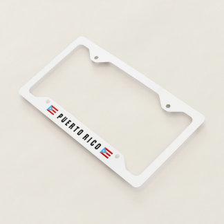Bandera Celeste Puerto Rico License Plate Frame