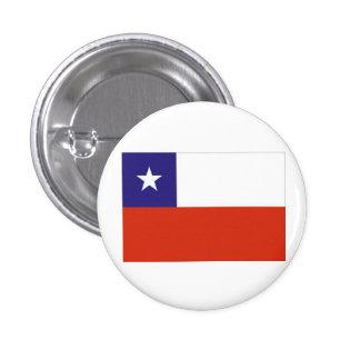 Bandera Chile VI 1 Inch Round Button