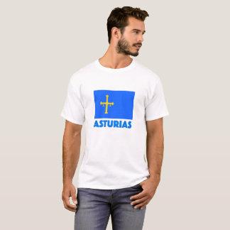 Bandera De Asturias Camiseta T-Shirt