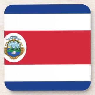Bandera de Costa Rica - Flag of Costa Rica Beverage Coasters