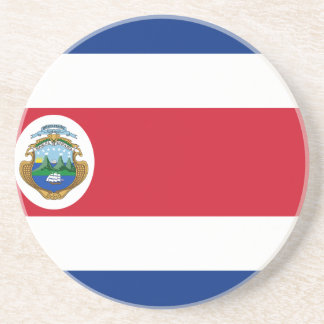 Bandera de Costa Rica - Flag of Costa Rica Coaster