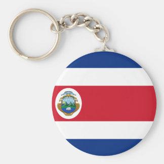 Bandera de Costa Rica - Flag of Costa Rica Keychain