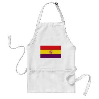 Bandera de la República Española Standard Apron