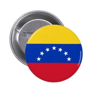 Bandera de Venezuela, 7 Estrellas 2 Inch Round Button