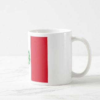 Bandera del Perú - Flag of Peru Coffee Mug