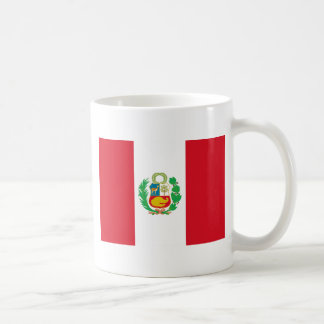 Bandera del Perú - Flag of Peru Coffee Mug