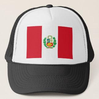 Bandera del Perú - Flag of Peru Trucker Hat