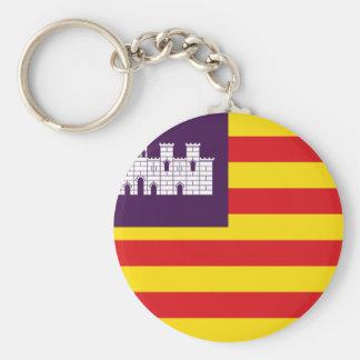 Bandera Islas Baleares - Flag Balearic Islands Keychain