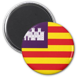 Bandera Islas Baleares - Flag Balearic Islands Magnet