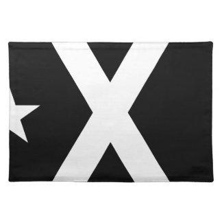 Bandera Negra - Estelada Catalunya Flag Placemat