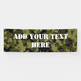 Banderoles Motif militaire de style de camouflage