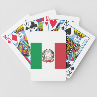 Bandiera Italiana - State Ensign of Italy Poker Deck