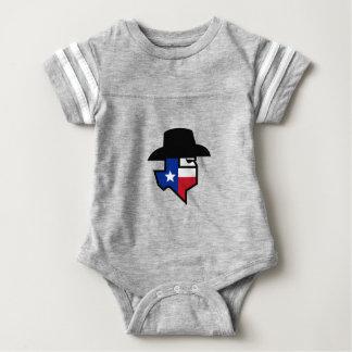 Bandit Texas Flag Icon Baby Bodysuit
