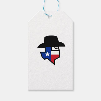 Bandit Texas Flag Icon Gift Tags
