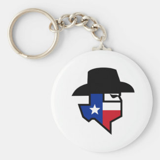 Bandit Texas Flag Icon Keychain