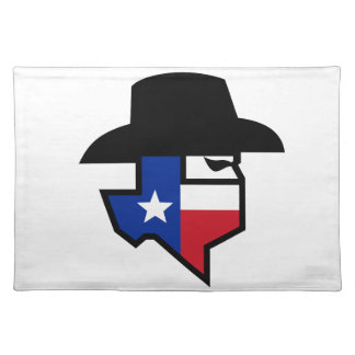 Bandit Texas Flag Icon Placemat
