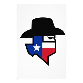 Bandit Texas Flag Icon Stationery
