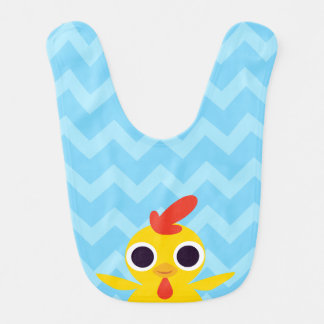 Bandit the Chick Baby Bibs
