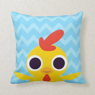 Bandit the Chick Throw Pillow