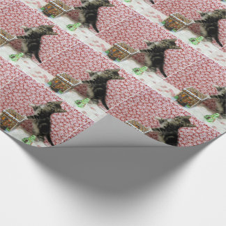 Bandit's Gingerbread House Wrapping Paper