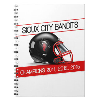 Bandits Spiral Notebook