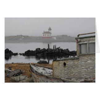 Bandon Lighthouse Card