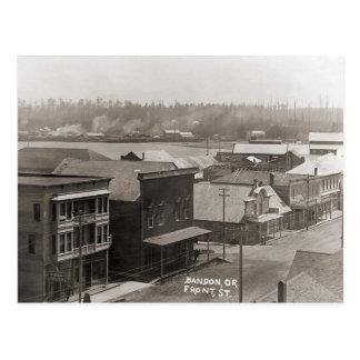 Bandon OR Circa 1900 Postcard