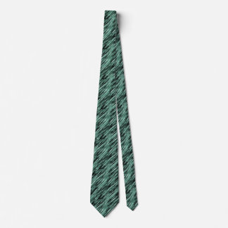Bands of Green Light Tie