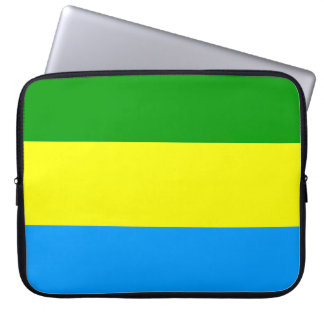 Bandung city flag indonesia symbol laptop sleeve