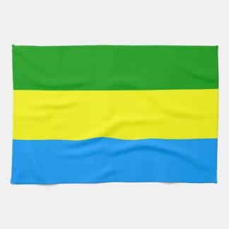 Bandung city flag indonesia symbol towel