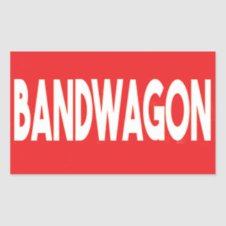 Bandwagon Sticker