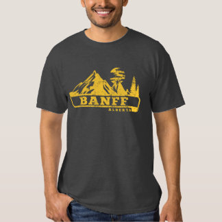 Banff Alberta Canada T Shirt
