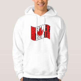 Banff Alberta Canadian Flag Hoodie