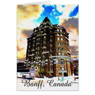 Banff, Canada, Greeting Card