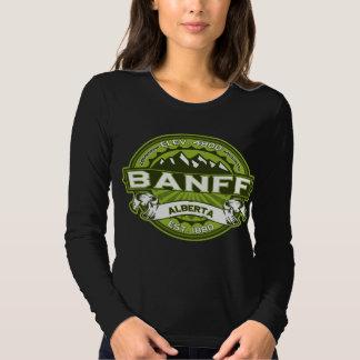 Banff Logo Green Dark T Shirts