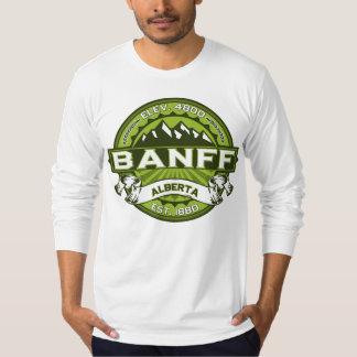 Banff Logo Green T-Shirt
