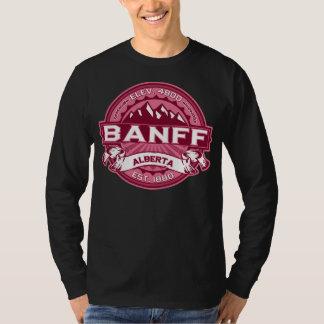 Banff Logo Honeysuckle Dark T-Shirt