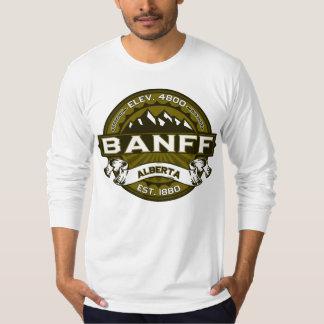 Banff Logo Olive T-Shirt