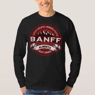 Banff Logo Red Dark T-Shirt