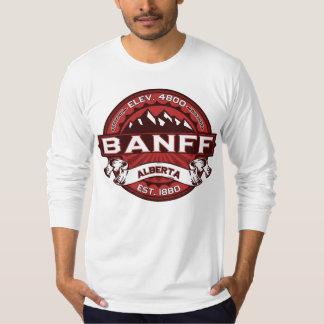 Banff Logo Red T-Shirt