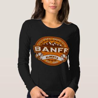 Banff Logo Tangerine Dark Shirt