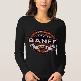 Banff Logo Vibrant Dark T Shirt